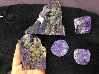 charoite crystal