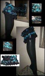 Zombambie Crochet garter