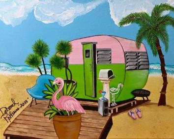 8-x-10-landscape-trailer-trash-on-the-beach